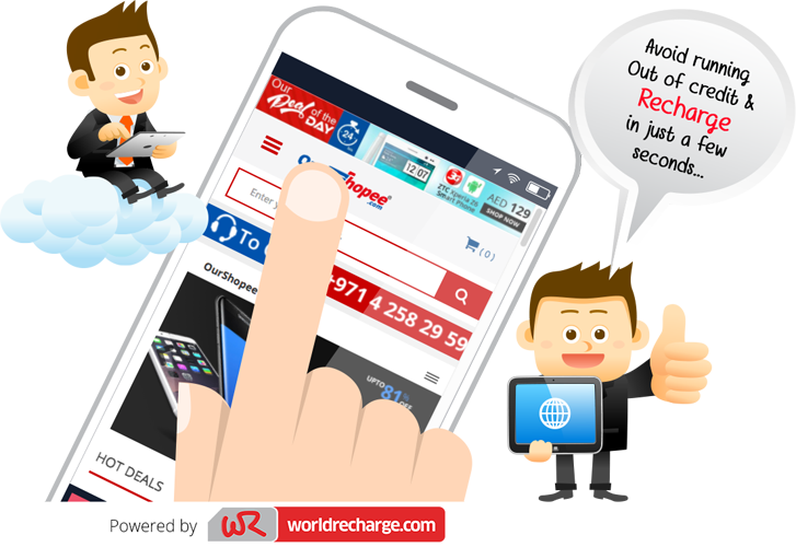 Recharge Online From Ourshopee
