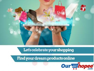 Lets Celebrate Your Shopping; Find Your Dream Product Online