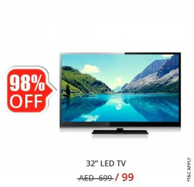 Nikai 32 inch HD LED TV NTV3272LED7
