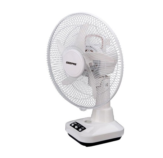 Geepas GF21118 Rechargeable 12inch  Oscillation Fan