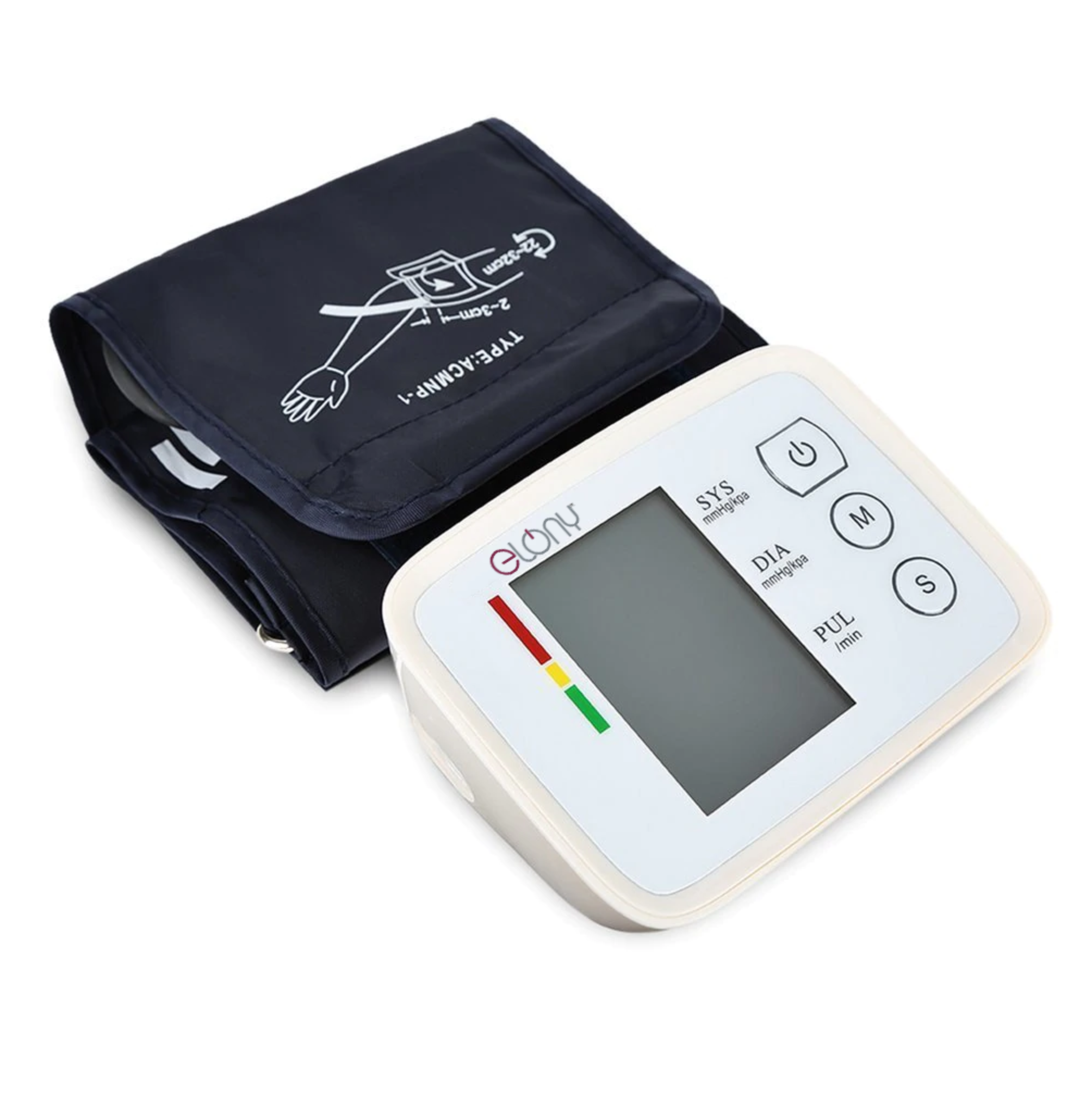 Elony ELY106 Intelligent Arm Type Blood Pressure Meter
