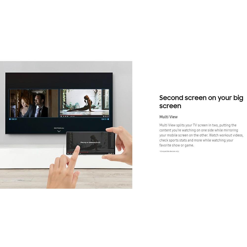 Samsung 85 inch Class Q60T QLED 4K UHD HDR Smart TV