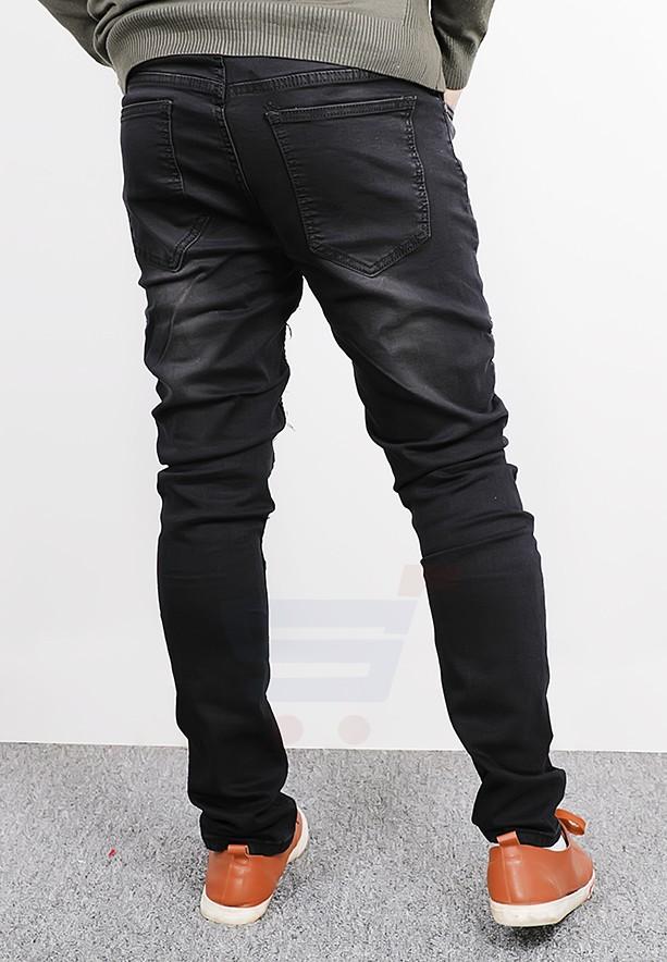 Catch Mens Denim Casual Pant Black - RT710 - 33