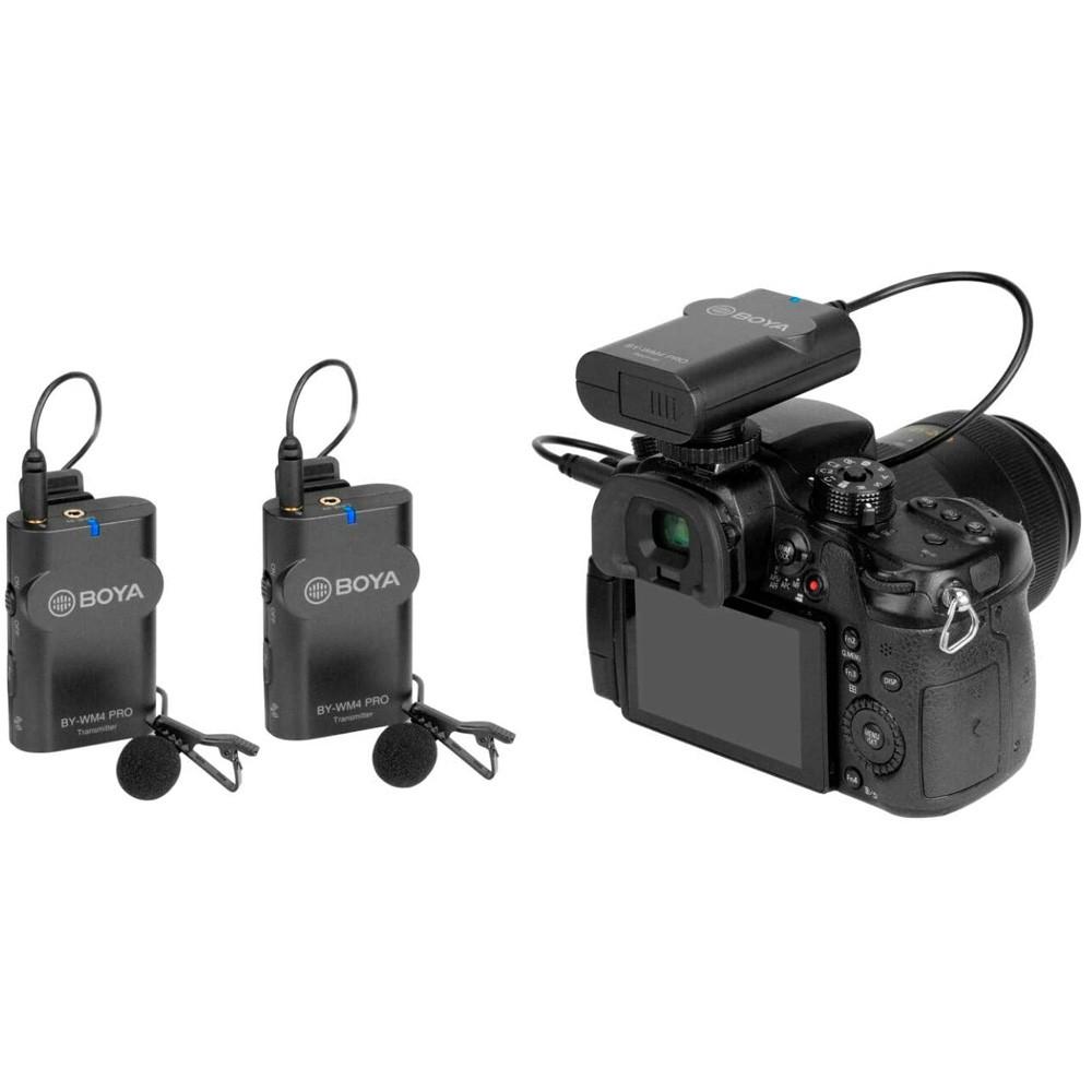 Boya BY-WM4 Pro-K2 Portable 2.4G Wireless Microphone