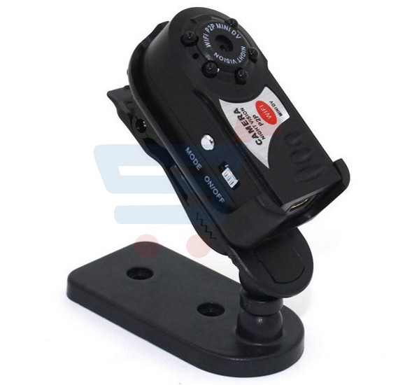 Q7 Mini Wifi DVR 720P Wireless IP Camcorder Video Recorder with Infrared Night Vision Camera