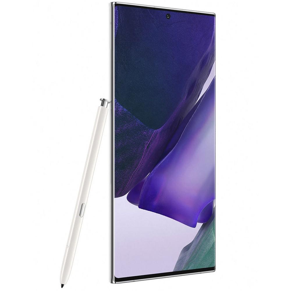 Samsung Galaxy Note20 Ultra Dual SIM 8GB RAM 256GB 4G LTE, Mystic White