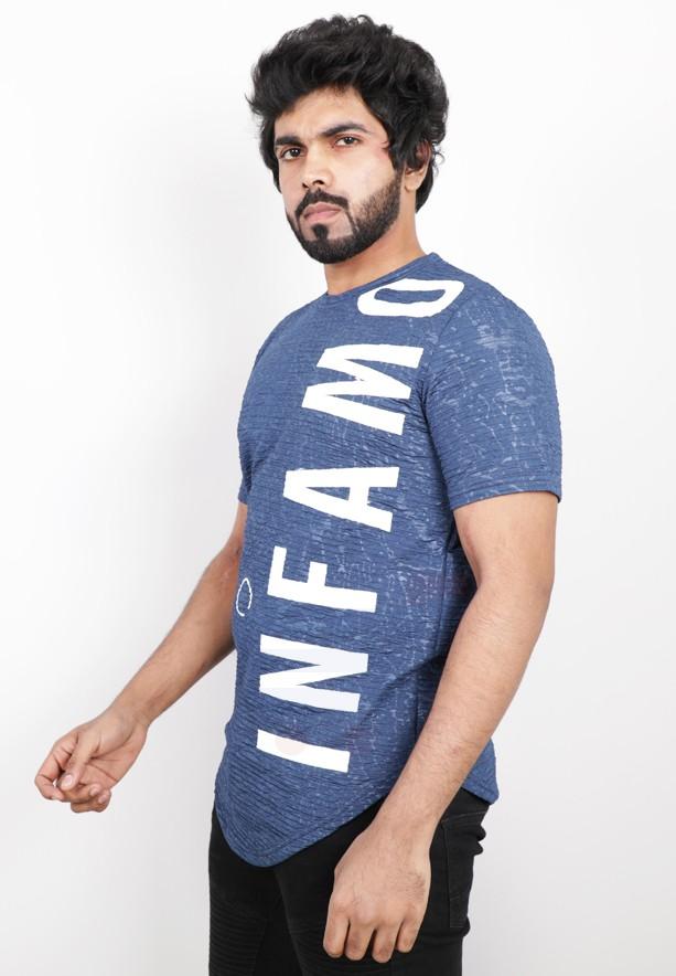 Nansa Mens Tshirt Blue - NAABF15611X - M