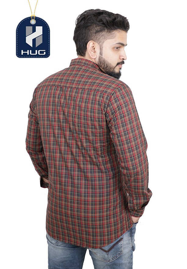 HUG Mens Casual Shirts Size M - OCRD0107
