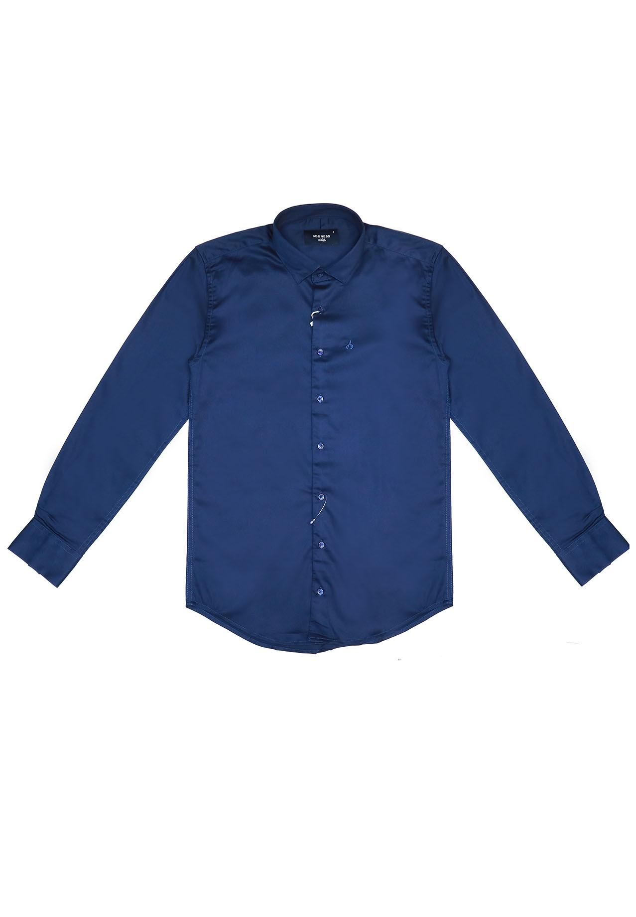 Address Formal Shirt Blue
