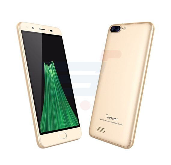 Crescent Venus 9 3G Smartphone, Android 6.0, 5 Inch HD Display, 1GB RAM, 8GB Storage, Dual Camera, Wifi- Gold