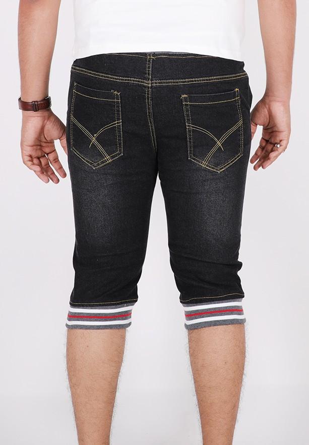 Nansa Hot Marine Denim Jeans For Men Black - MBBAF62438A - 34