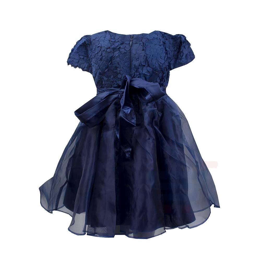 Amigo 7 Children Dress Blue - 6-9M - 1159