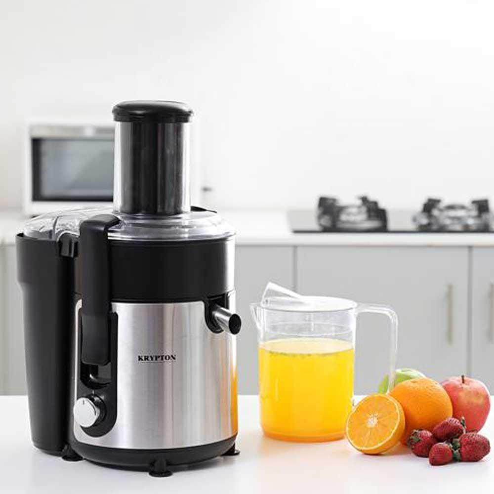 Krypton KNJE6205 800W Juice Extractor,2 Speed Mode, Silent Motor,1L Juice Jug