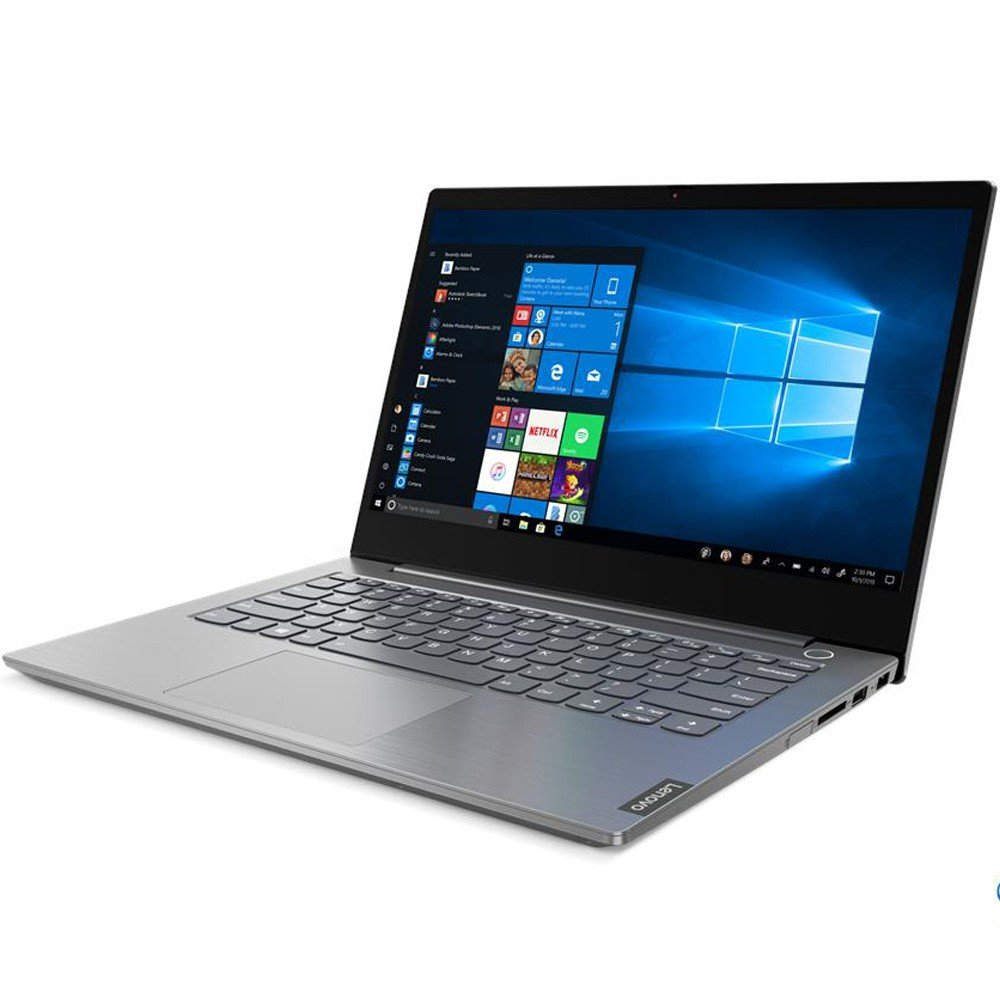 Lenovo ThinkBook 14 Notebook with 14 inch FHD Display, Intel I5 1035G1 Processor, 8GB RAM, 1TB HDD, 2GB, DOS, Gray