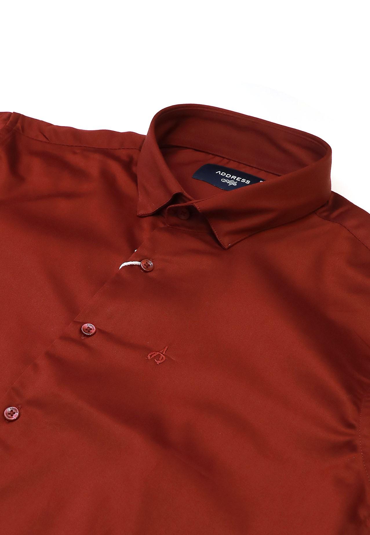 Address Formals Shirt Red