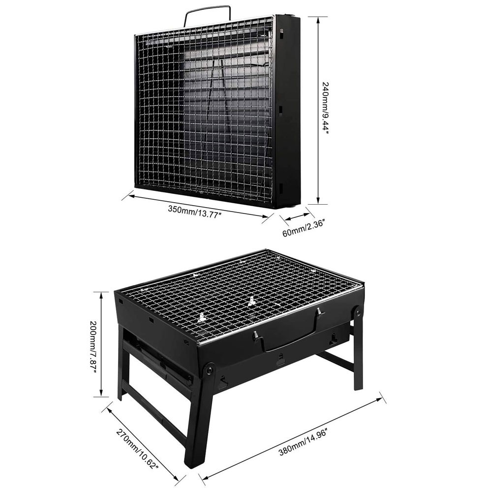 Charcoal Grill Barbecue Portable BBQ, 07731553
