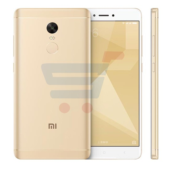 Xiaomi Note 4X, 4G Smartphone, Android 6.0, 5.5 Inch Display, 2GB RAM, 16GB Storage, Dual Camera, Dual Sim- Gold