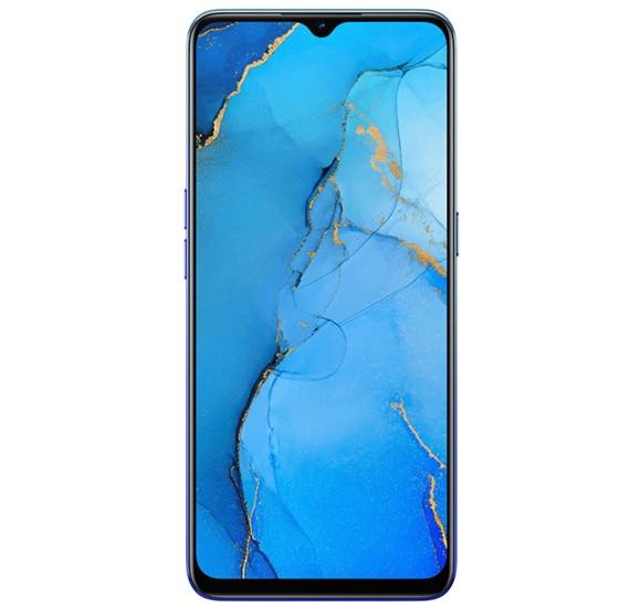 Oppo Reno 3 Dual SIM 8GB RAM 128GB 4G LTE-Auroral Blue