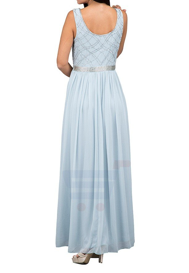 TFNC London Shae Maxi Evening Dress Sky Blue - LNB 30670 - XXL