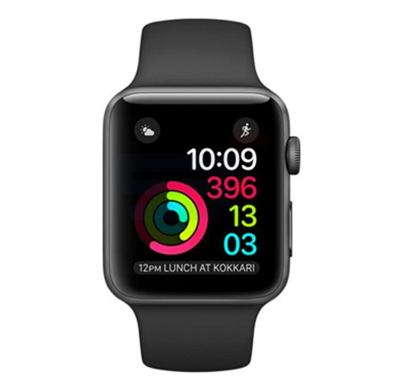 Apple Series 1 2016 MP032 Sport Band 42 MM Black
