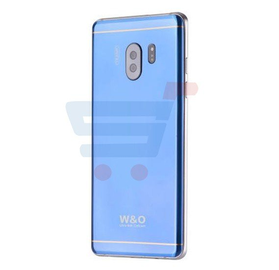 W&O W5 4G Smartphone, Android, 5.5 Inch Display, Dual Sim, Dual Camera, 2GB RAM, 32GB Storage, Quad CoreProcessor - Blue
