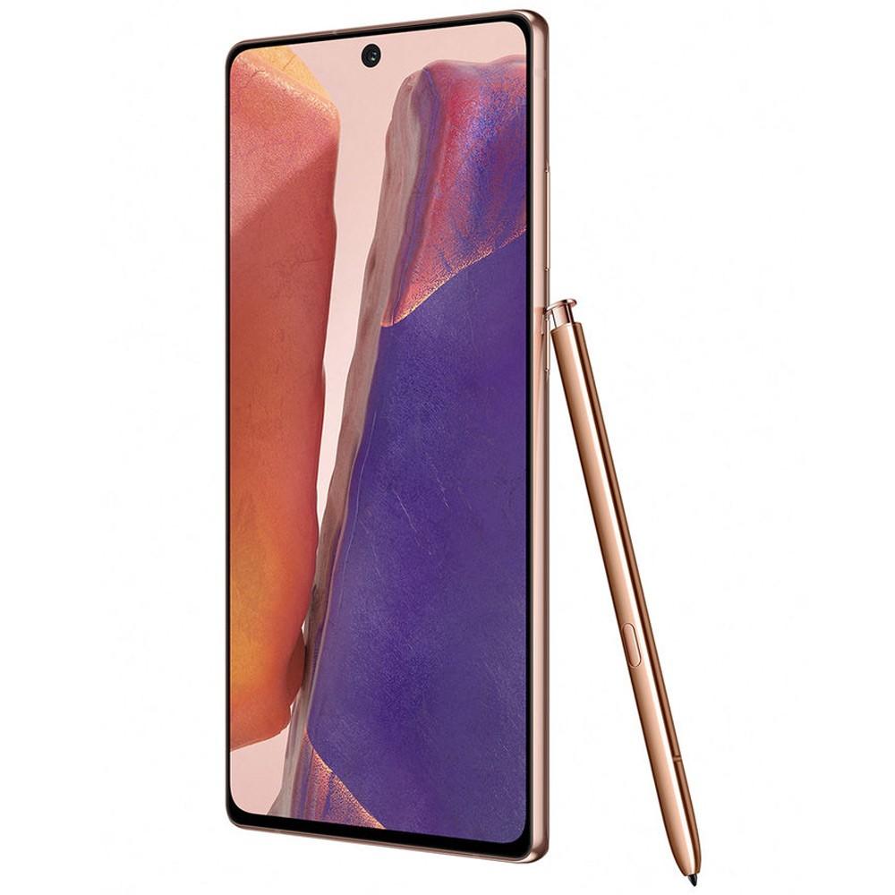 Samsung Galaxy Note20 Dual SIM 8GB RAM 256GB 5G, Mystic Bronze