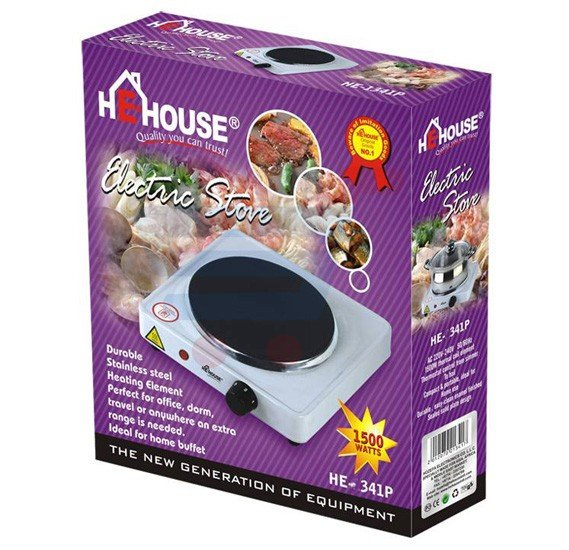 He House Single Hot Plate HE-341