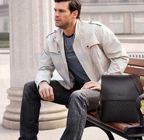Videng Polo Classic Design Business Bag For Men - BY-51