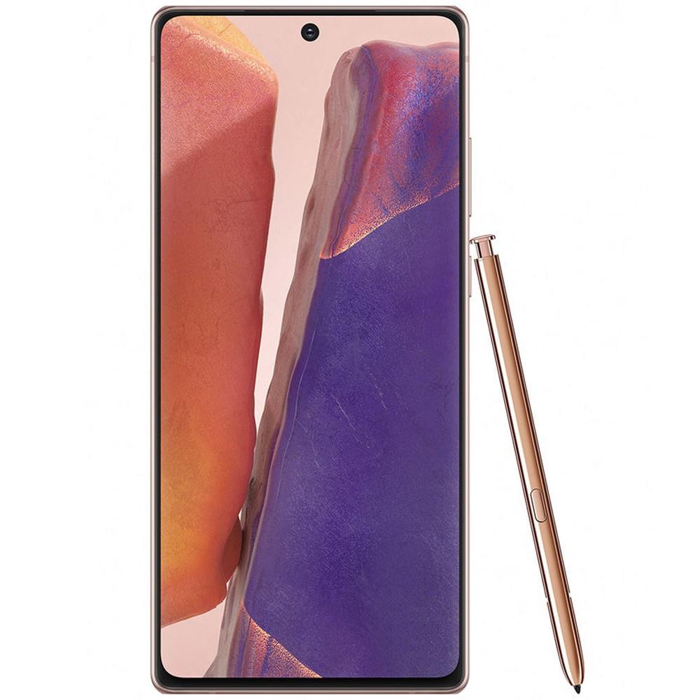 Samsung Galaxy Note20 Dual SIM 8GB RAM 256GB 4G LTE, Mystic Bronze