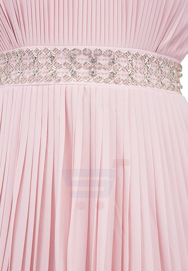 TFNC London Kenzie Maxi Evening Dress Pink - CTT 6479 - XL