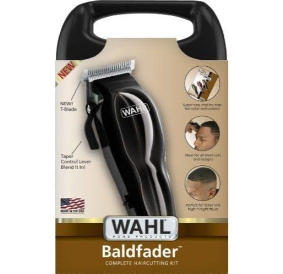 WAHL 79111 500 Bald Fader 14 Pc Kit