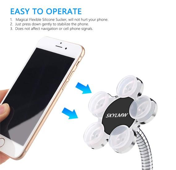 Generic Magic Sucker Cell Phone Holder - SKYLMW