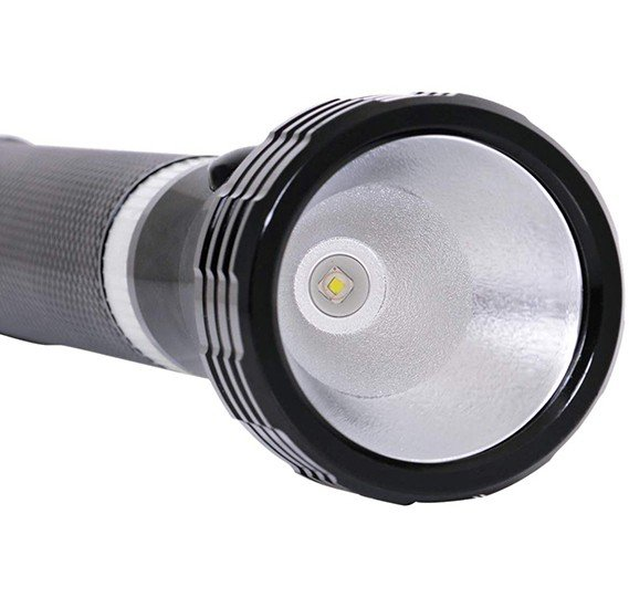 Geepas Rechargeable LED Flash Light - GFL4641