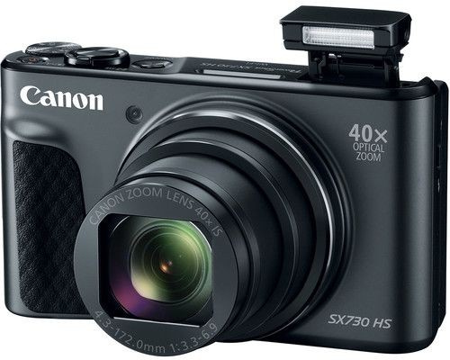 Canon PowerShot SX730 HS - 20.3MP Digital Camera, Black