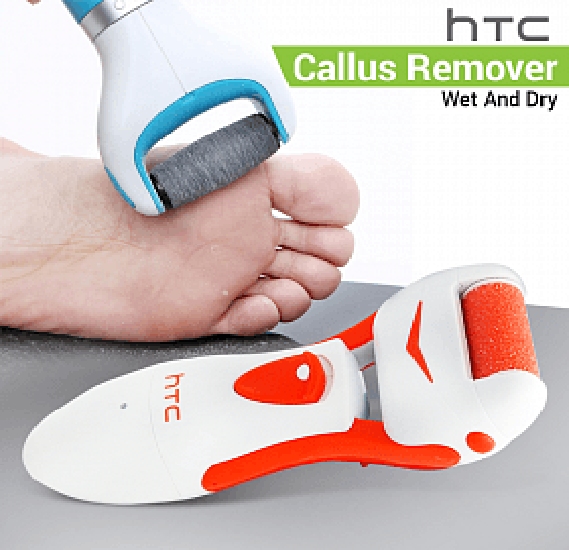 HTC Washable Rechargeable Callus Remover Wet And Dry, HL017