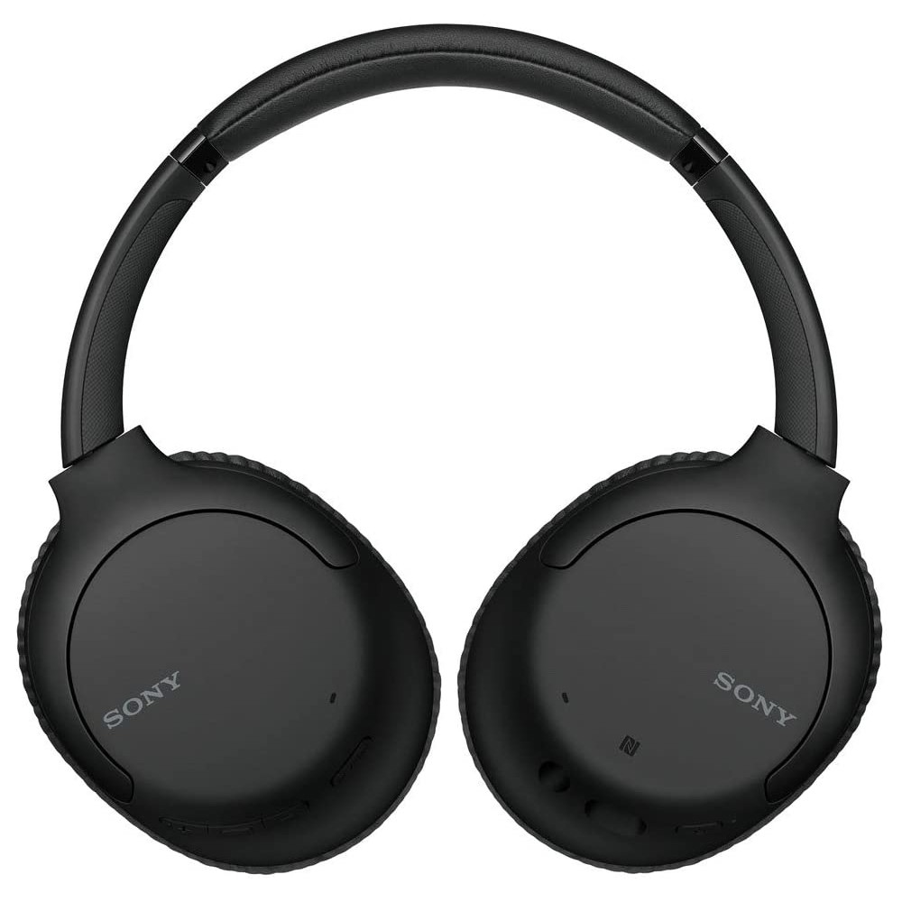 Sony WH-CH710N Wireless Noise Canceling Headphones Over Ear Bluetooth Headset with Mic, Black