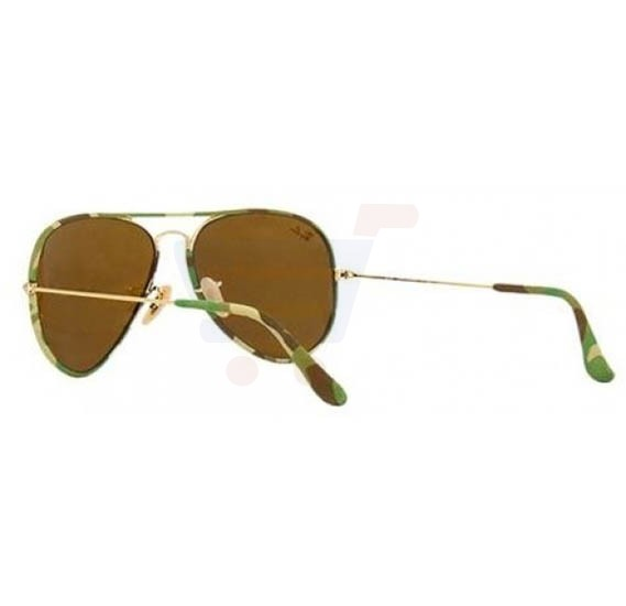 Ray-Ban Aviator Multi Color Frame & Brown Mirrored Sunglasses For Unisex - RB3025-JM169