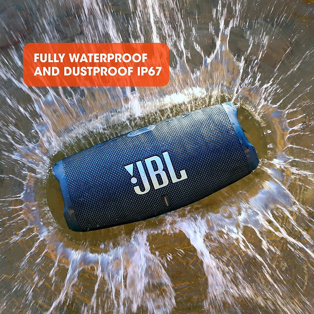 JBL CHARGE 5 Portable Waterproof Speaker Blue