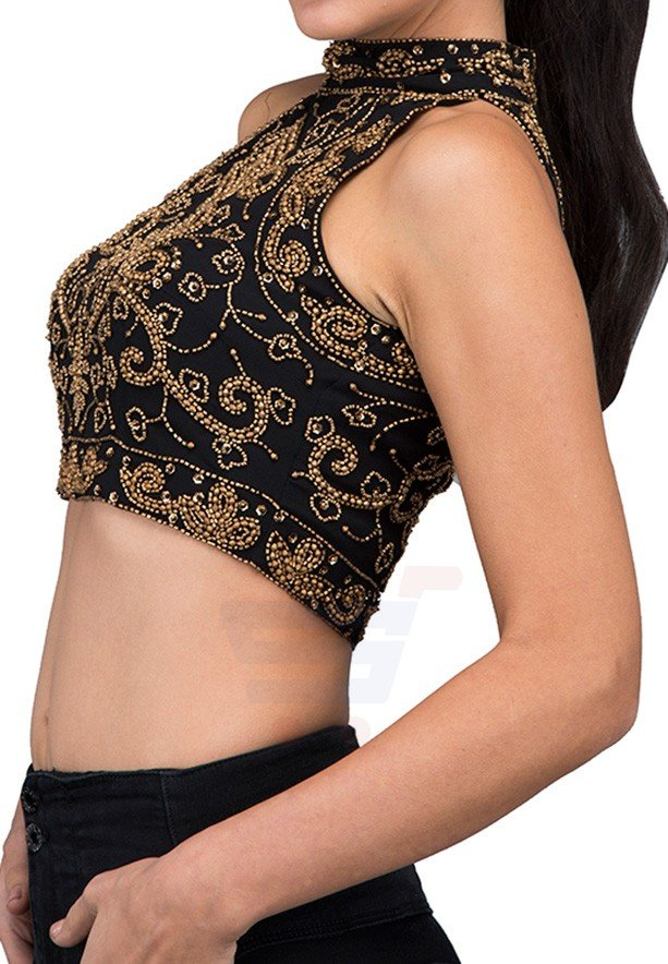 TFNC London Paula Top Body and Cropped Black - ANQ 11440 - L