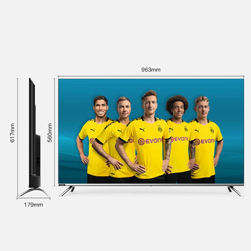 CHiQ 43-Inch Full HD Smart LED TV, L43H7, Silver