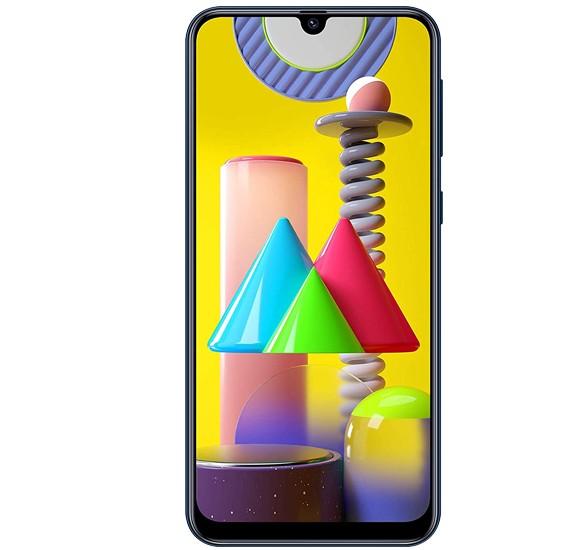 Samsung Galaxy M31 Dual SIM, 128GB, 6GB RAM, 4G LTE-Blue