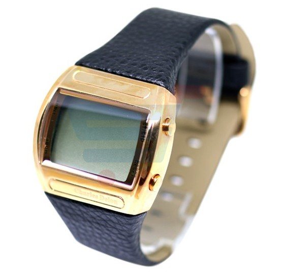 Charles Delon Gents LCD Watch Plastic Band - 4795GBD2