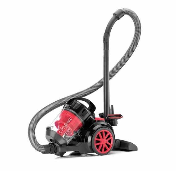 Black & Decker 1600W Multicyclonic Vacuum Cleaner, VM1680-B5