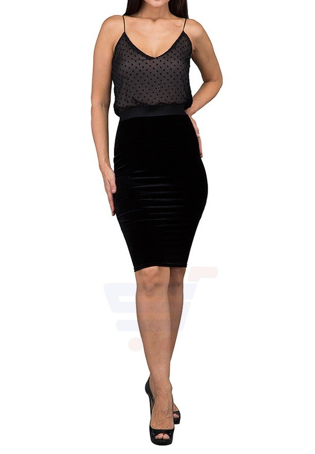 TFNC London Alia Bodycon Formal Dress Black - ANT 43770 - L