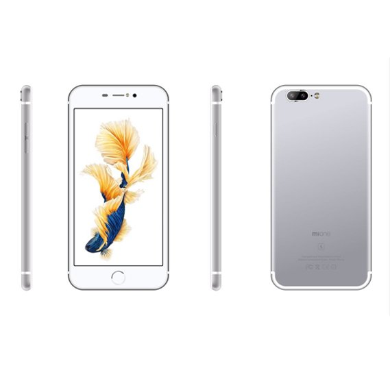 Mione i7s Plus Smartphone 4G , Android 5 1(Lollipop) 5 5 inch IPS HD  Display, 3GB RAM, 32GB Storage, Dual Sim,Dual Camera - Silver