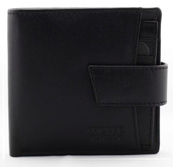 Philippe Morgan premium Leather Wallet PM004, Black