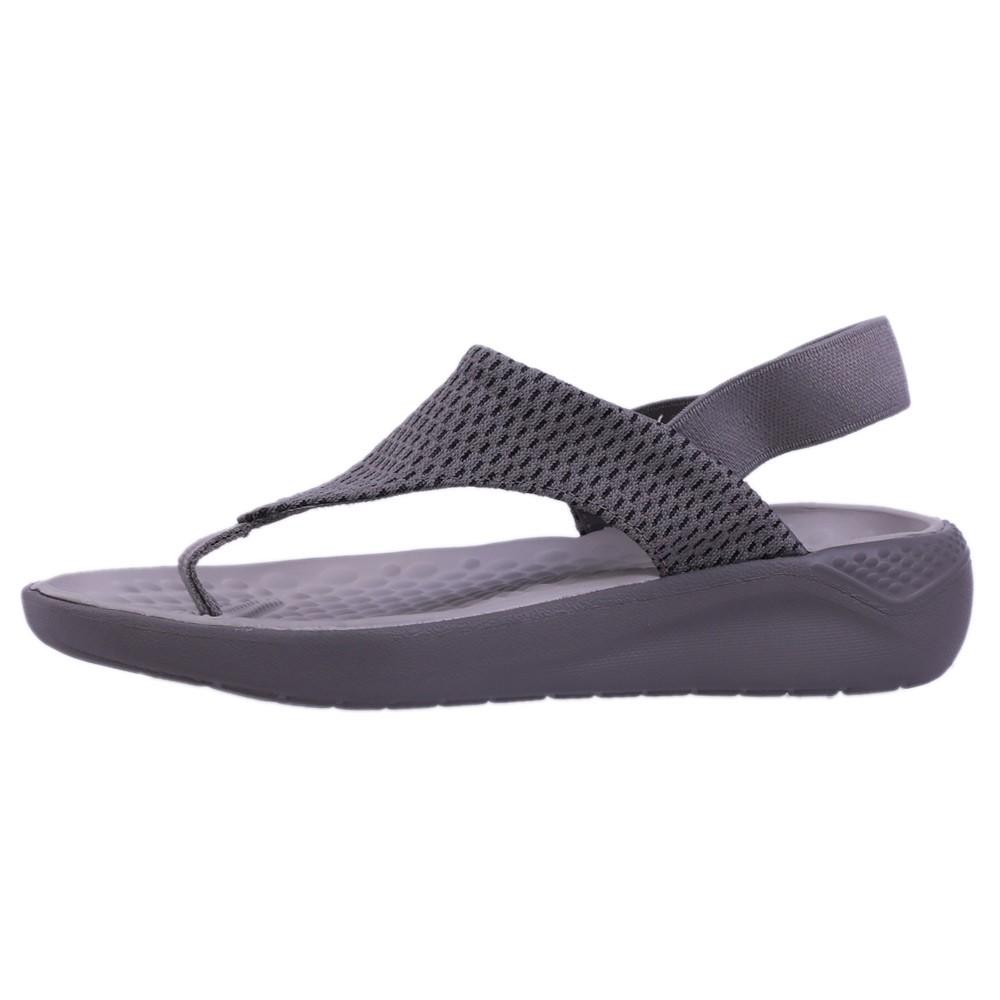 Crocs Womens Clogs Sandals Literide Mesh Flip, Size 35