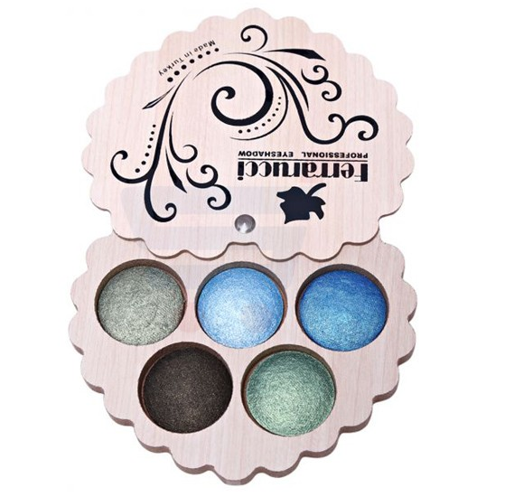 Ferrarucci 5 Color Eye Shadow 110g, 5