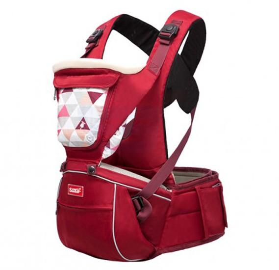 Sunveno Baby Carrier Dark Red