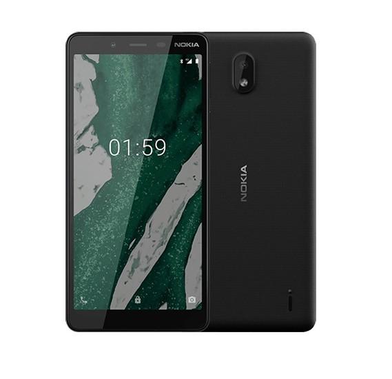 Nokia 1 Plus Smartphone, Android, 1GB RAM, 5.45 Inch,8GB Storage, Black